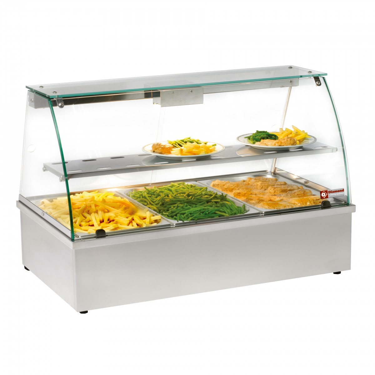 of countertops display shops for food countertop alpina warmer delice us case