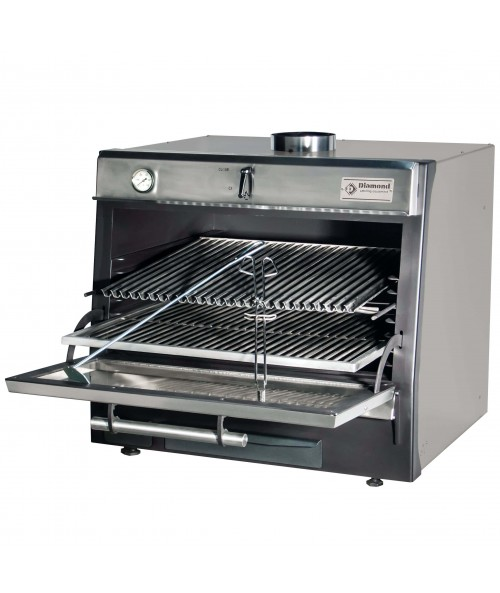 CBQ-075/SS Charcoal Oven Stainless Steel