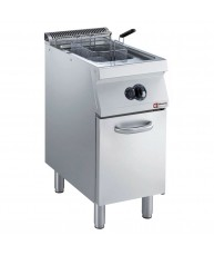G17/F15A4-AGA Gas Fryer Single Pan 15L 700mm