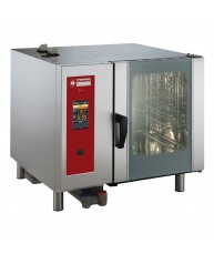 SDET/6-CL Electric Combi Oven Touchscreen Direct Steam / Convection 6 X GN1/1