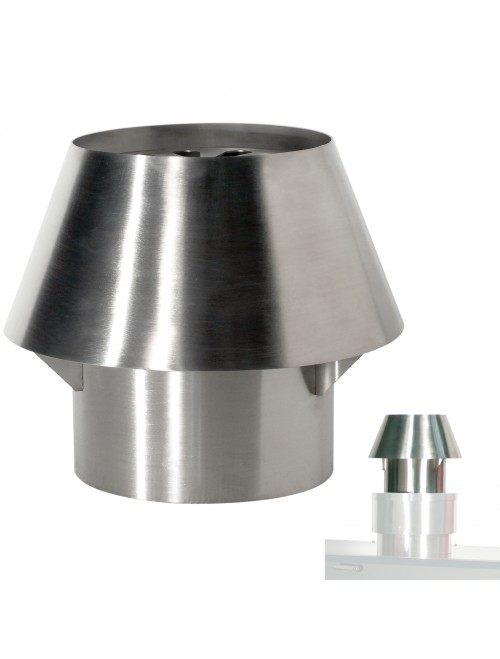 CCX/120 Stainless Steel Chimney Dome (CBQ-120)