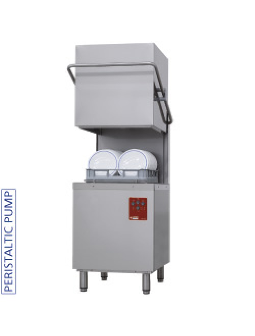 Hood Dishwasher 500X500MM Basket 550 Dish/Hour