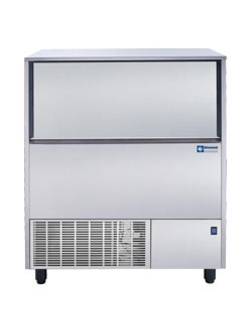 Hollow Ice Cube Maker 122Kg/24H Storage 50Kg