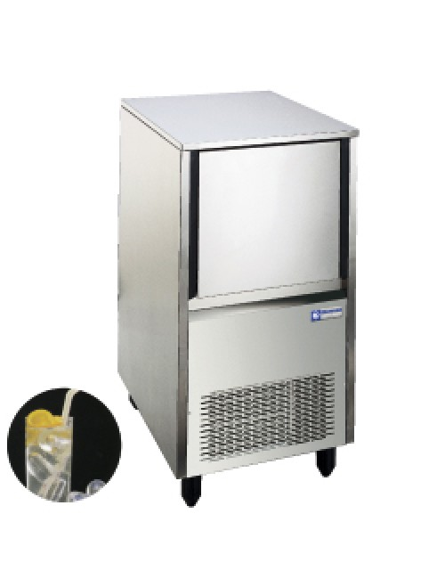 Hollow Ice Cube Maker 18Kg/24H Storage 9Kg