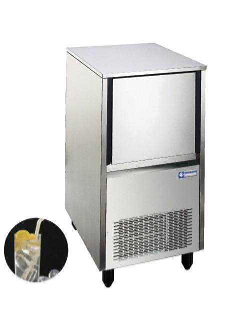 Hollow Ice Cube Maker 28Kg/24H Storage 12Kg