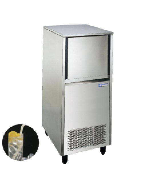 Hollow Ice Cube Maker 37Kg/24H Storage 18Kg