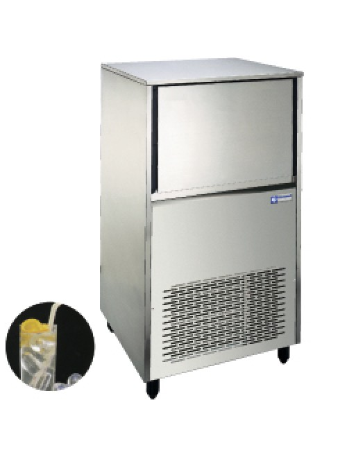 Hollow Ice Cube Maker 55Kg/24H Storage 30Kg