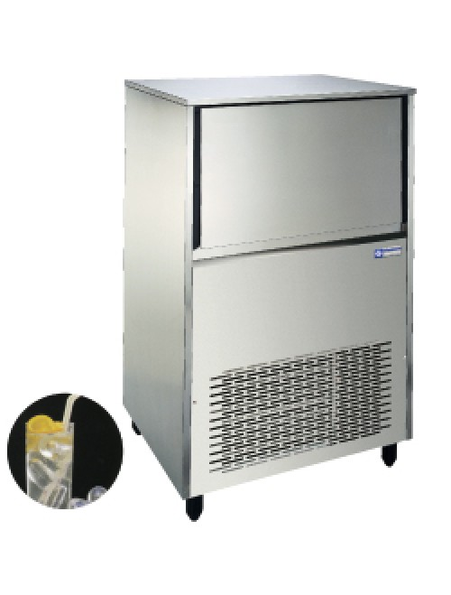 Hollow Ice Cube Maker 75Kg/24H Storage 37Kg