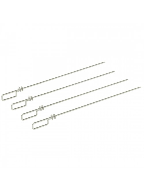 AC/BG4 4 Long Skewers 1/1GN to suit Cook & Chill Combi Ovens