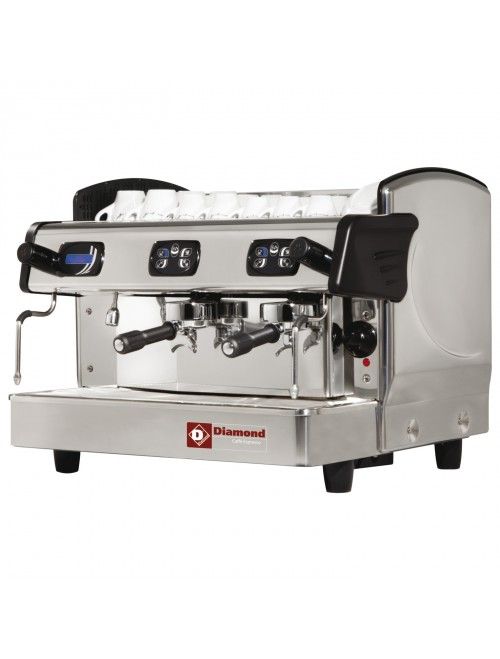AROMA/2ED-N 2 Group Volumetric Espresso Machine