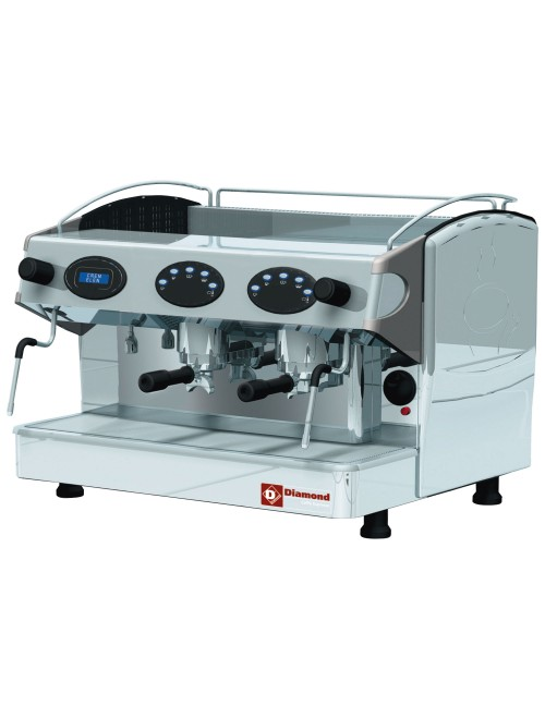 AROMA/2ED 2 Group Volumetric Espresso Machine
