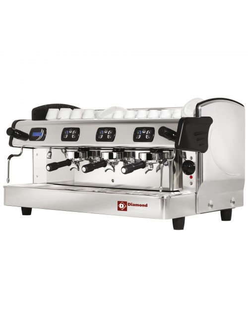 AROMA/3ED-N 3 Group Volumetric Espresso Machine