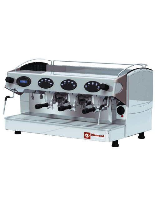 AROMA/3ED 3 Group Volumetric Espresso Machine