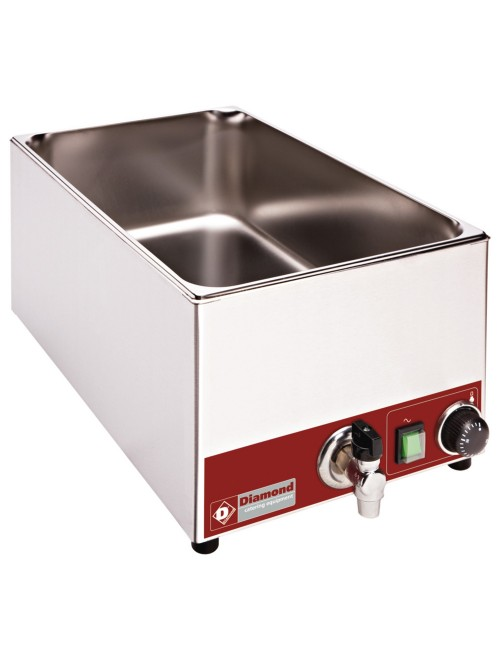 BMZR/X Tabletop Electric Bain-Marie GN1/1 with Tap