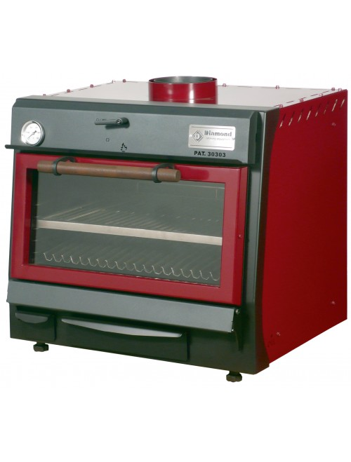 CBQ-060 Charcoal Oven GN 1/1 (60Kg/h)