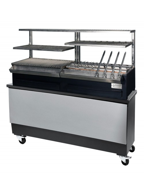 CBR-160C-S Charcoal Robata Grill Complete with Stand