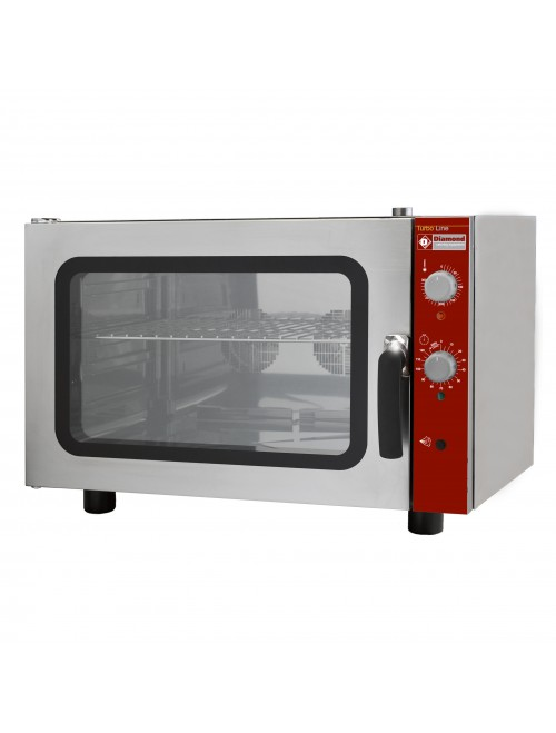 CGE11-N Electric Convection Oven with Manual Humidification - 4 Tray
