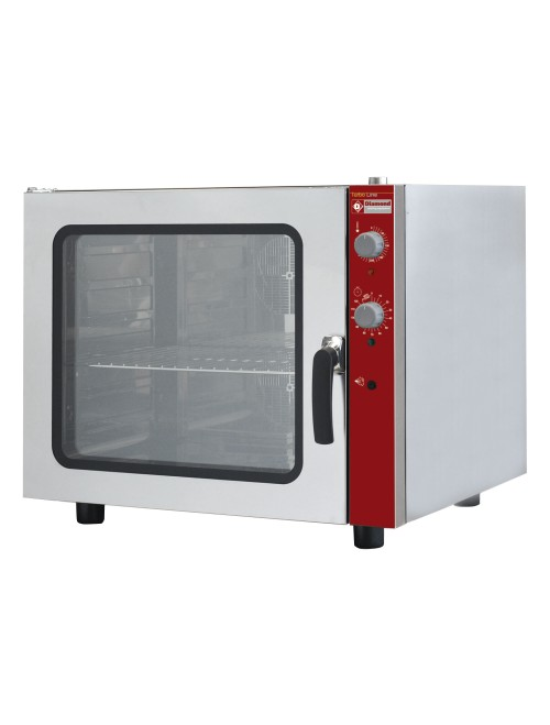 CGE611-NP 6 Tray Electric Convection Oven Manual Humidification