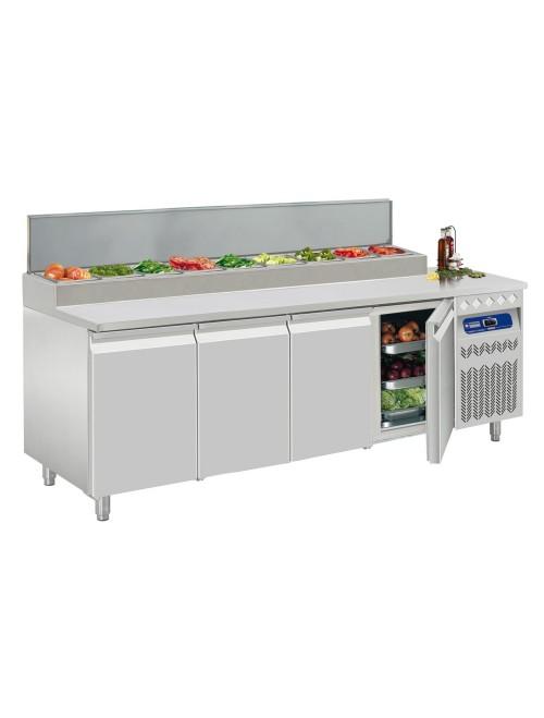 DTS-10/EL Ventilated Refrigerated Preparation Table 4 Door