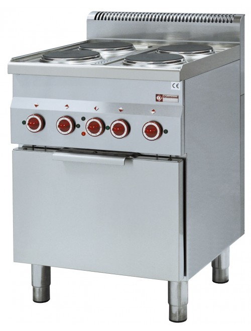 E60/4PFV6 Electric Range Oven with 4 Hob Electric Stove