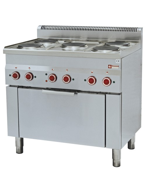 E60/5PFV9 Electric Range Oven with 5 Hob Electric Stove
