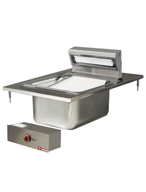 EDI/SF4 In Counter Chip Warmer & Salting Tub
