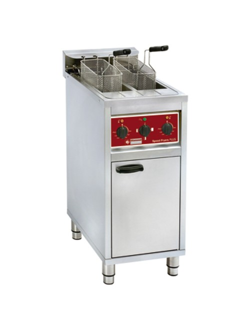 FSM-2V6E/N Electric Fryer Dual Vat 2 x 10L