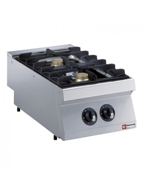 G17/2F4T-AGA 2 Burner Gas Cooktop 700mm