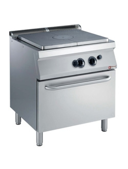 G17/TF8-AGA Gas Range Oven GN 2/1 with Cast Iron Gas Stove