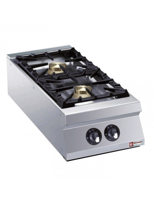 G22/2B4TPW-AGA Heavy Duty 2 Burner Gas Cooktop 900mm