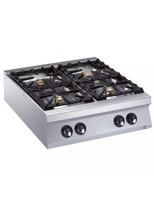 G22/4B8T-AGA Countertop Quad Gas Cooker
