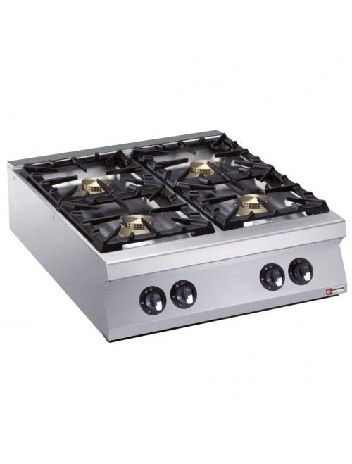G22/4B8TPW-AGA Heavy Duty 4 Burner Gas Cooktop 900mm