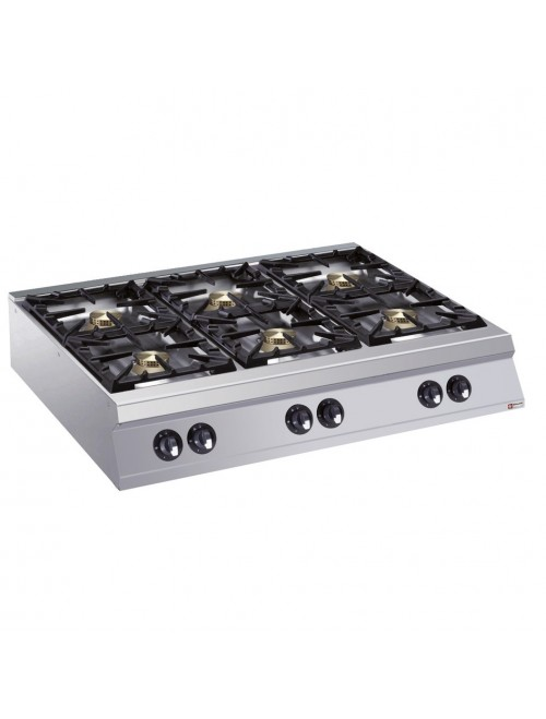 G22/6B12T-AGA 6 Burner Gas Cooktop 900mm