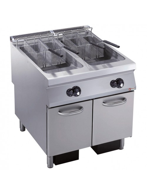 G22/F46A8-AGA Gas Fryer Dual Pan 2 x 23L 900mm