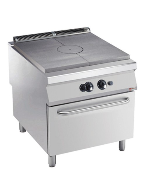 G22/TF8-AGA Freestanding Gas Target Top with GN2/1 Gas Oven