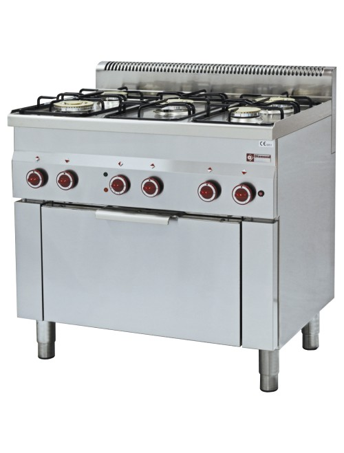 G60/5BFEV9 Electric Range Oven with 5 Burner Gas Stove