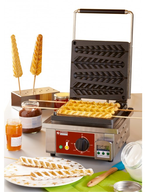 GE-ACT-GAUFRES Stick Waffle Iron Kit Complete