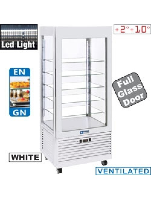 INN/VN-W5 Upright Refrigerated Display Case White