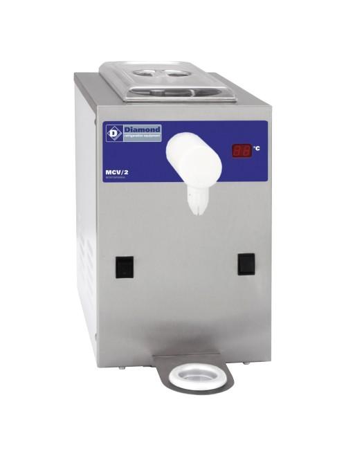 MCV/2 Refrigerated Whipped Cream Machine 100L/H