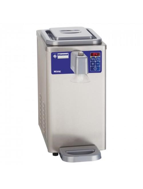 MCV/6C Refrigerated Whipped Cream Machine 300L/H