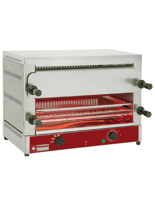 MD22/R-N Dual Level Electric Toaster & Salamander