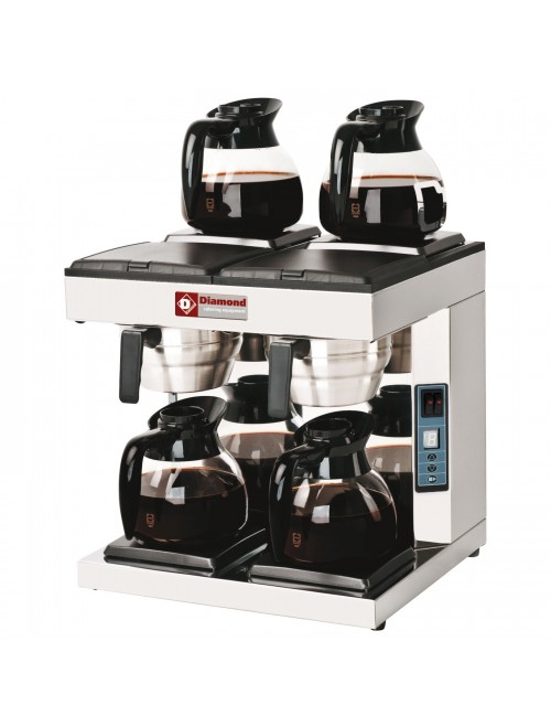 PCF-A4 Dual Coffee Percolator with Warming Plates