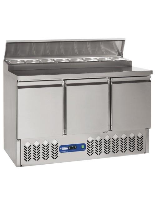 SALP3/R6 Refrigerated Preparation Table 3 Door 340L