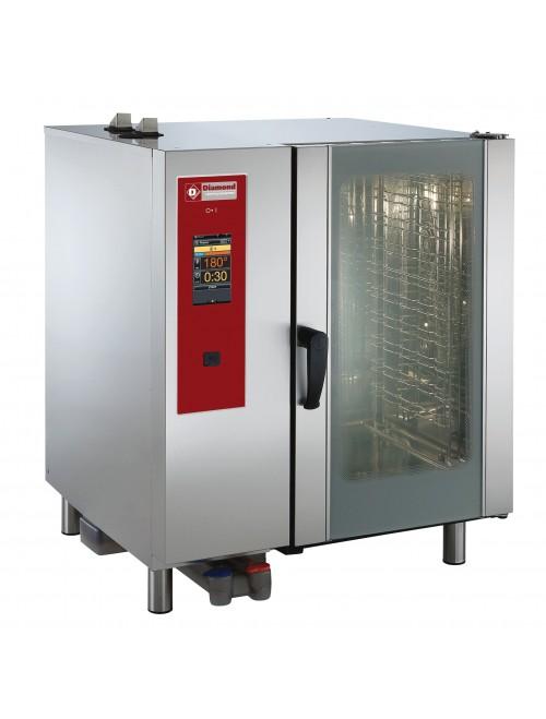SBGT/10-CL-AGA Gas Combi Oven Touchscreen Boiler Steam / Convection 10 X GN1/1