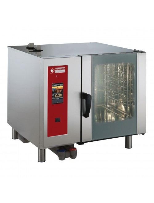 SBET/6-CL Electric Combi Oven Touchscreen Boiler Steam / Convection 6 X GN1/1
