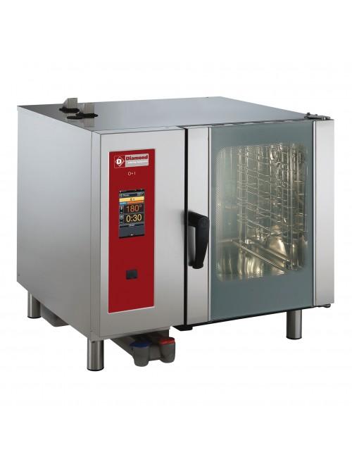 SBGT/6-CL-AGA Gas Combi Oven Touchscreen Boiler Steam / Convection 6 X GN1/1