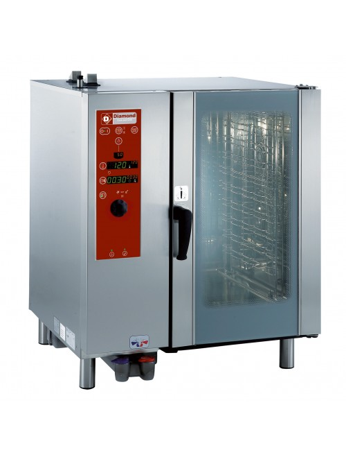 SDG/10-CL-AGA Gas Combi Oven Direct Steam / Convection 10 X GN1/1