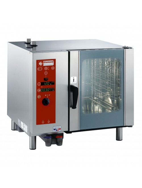SDE/6-CL Electric Combi Oven Direct Steam / Convection 6 X GN1/1