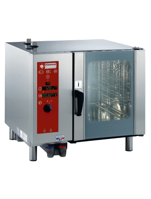 SDG/6-CL Gas Combi Oven Direct Steam & Convection - 6 Tray