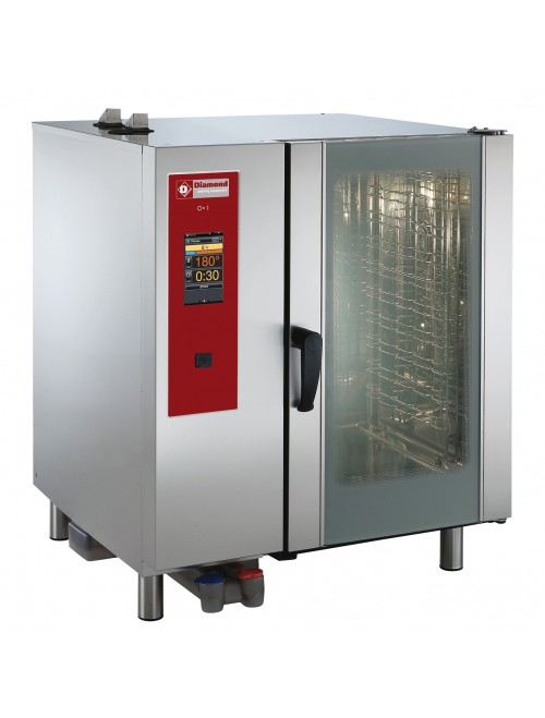 SDET/10-CL Electric Combi Oven Touchscreen Direct Steam / Convection 10 X GN1/1